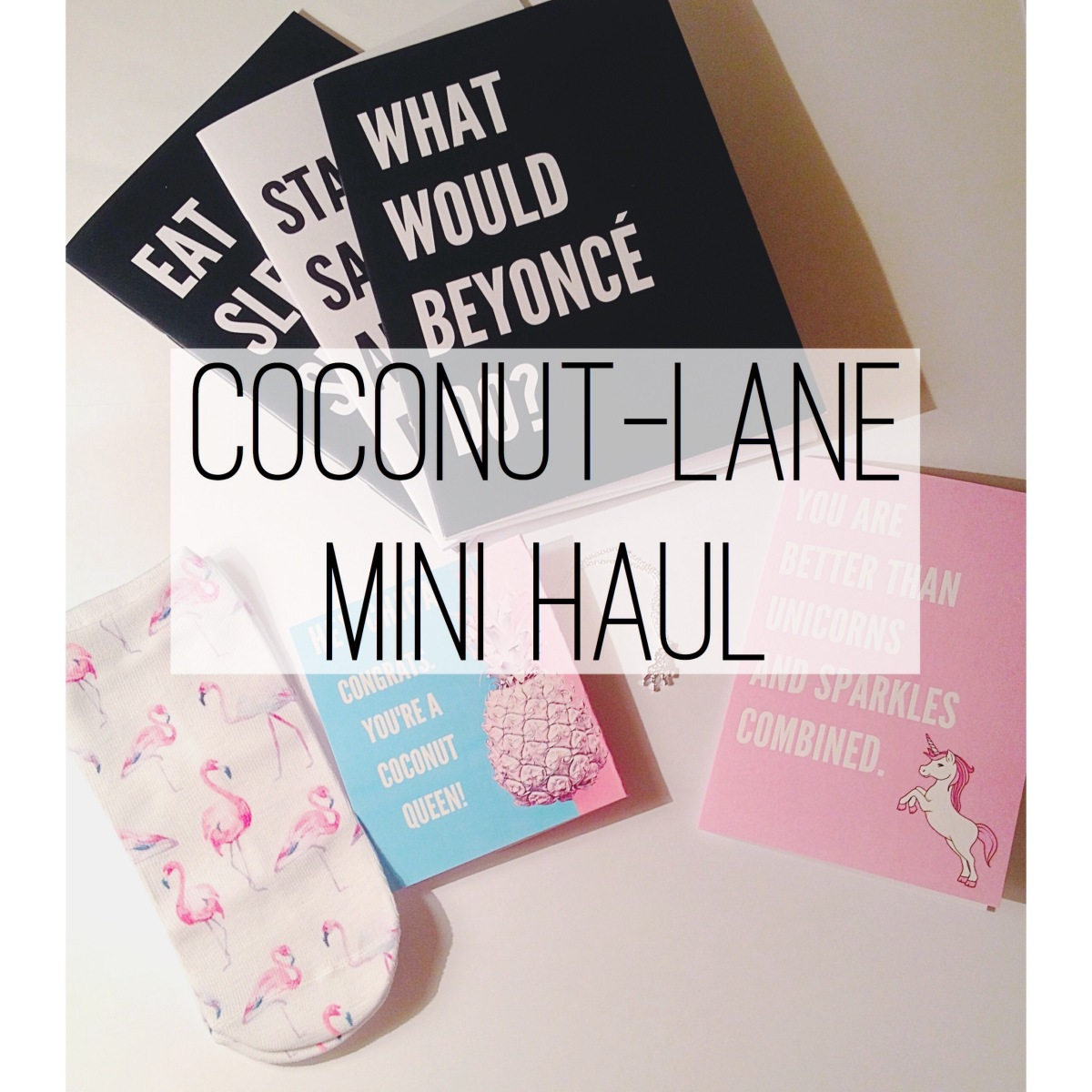 Coconut-lane mini haul