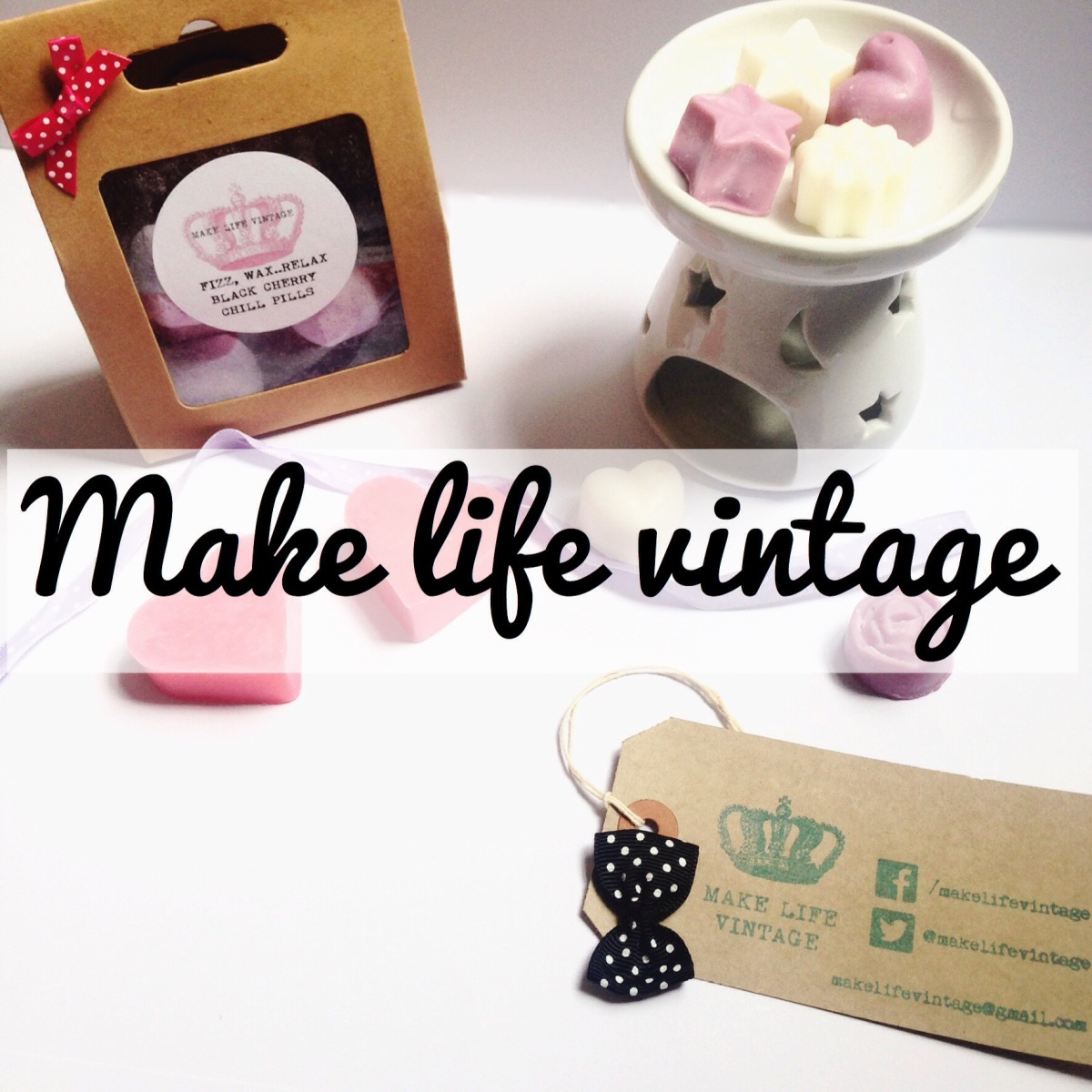 Make Life Vintage: Handmade Soy wax melts, Tarts & Candles